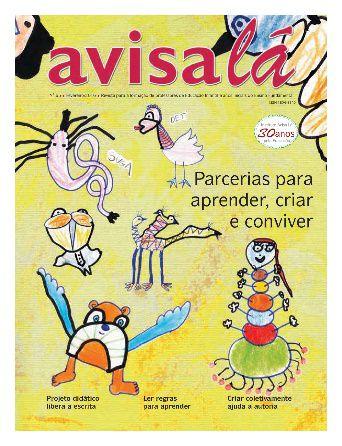 Revista Avisa lá #65 - Parcerias para aprender, criar e conviver