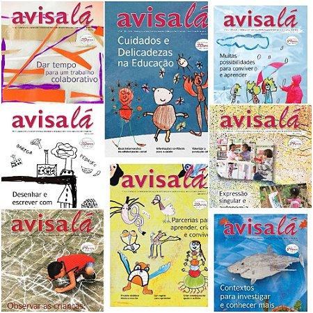 Pacote de revistas Avisa lá com 10 edições  #60 a 69