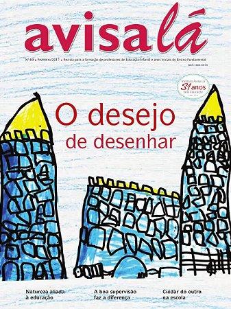 Revista Avisa lá #69 - O desejo de desenhar
