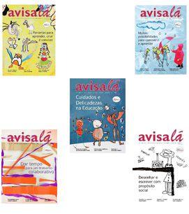 Pacote com 05 Revistas Avisa lá por apenas R$75,00