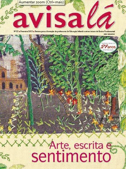 Revista Avisa lá #53 - Arte, escrita e sentimento