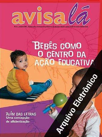 Arquivo Eletrônico Avisa lá #16 - Bebês como o centro da ação educativa