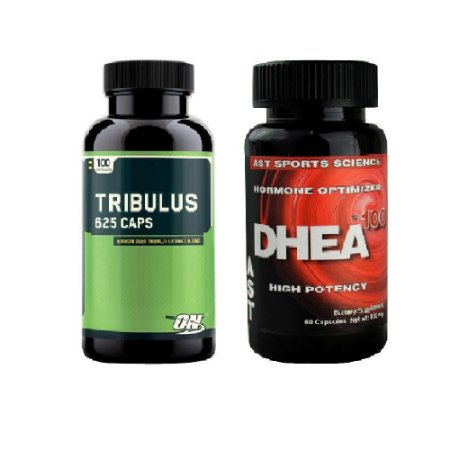 Tribulus Optimum Nutrition 100caps + DHEA AST SPORTS 60 caps