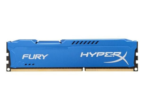 MEMORIA DDR3 HYPER X KINGSTON FURY BLUE 4GB 1600MHZ