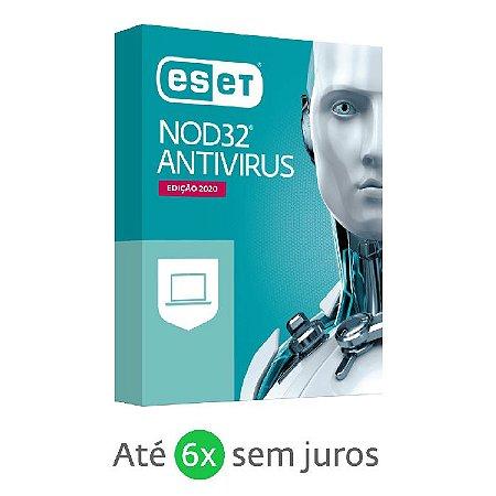 ANTIVIRUS ESET NOD32 DIGITAL P/ DOWNLOAD - 1 PC / 1 ANO