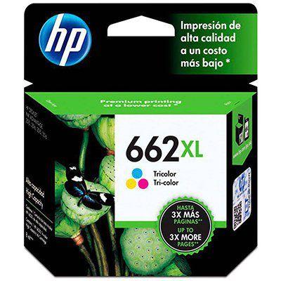CARTUCHO HP 662XL COLORIDO ORIGINAL