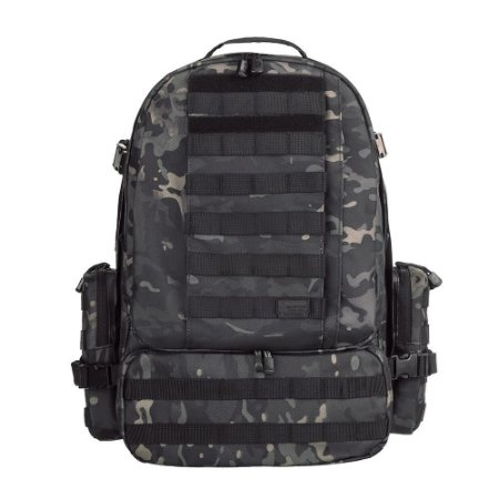 Mochila Invictus Defender Multicam Black 55 Litros