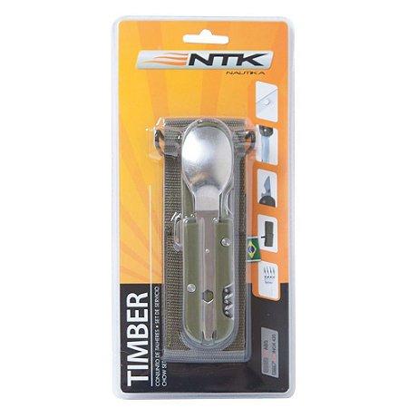 Conjunto de Talheres NTK Timber - Nautika