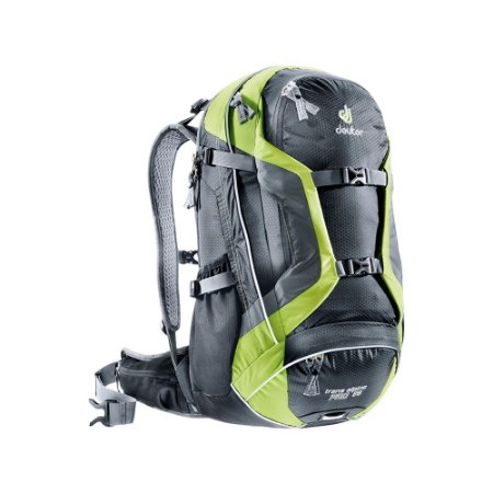 Mochila Deuter Trans Alpine Pro 28 Preto e Verde