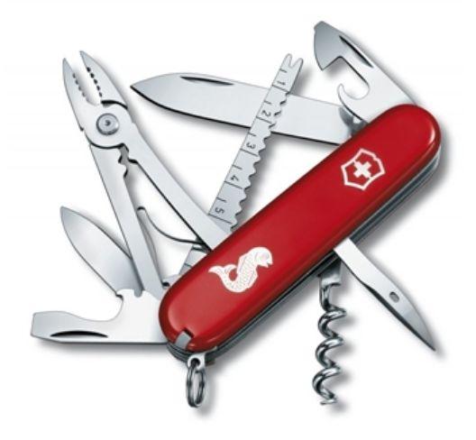 Canivete Victorinox Angler Vermelho Ref 1.3653.72