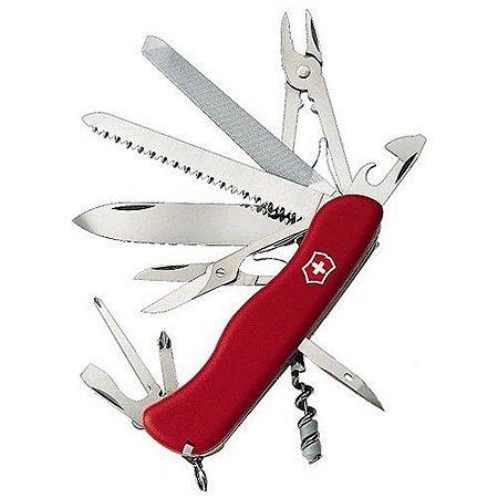 Canivete Victorinox Work Champ Vermelho 0.8564
