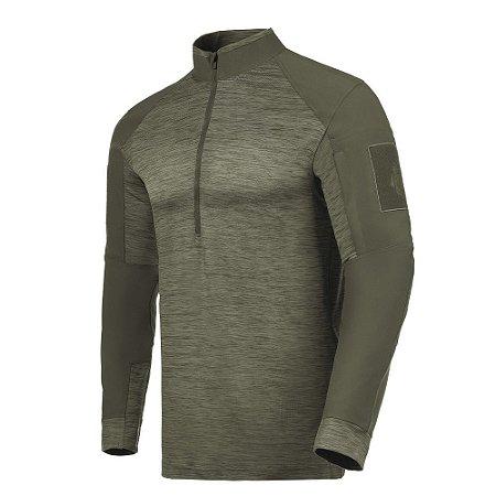 Camisa de Combate Invictus HAWK Verde Oliva