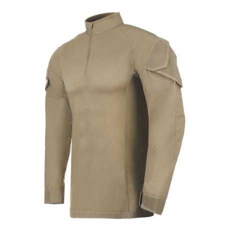 Camisa Invictus de Combate Operator Caqui Mojave