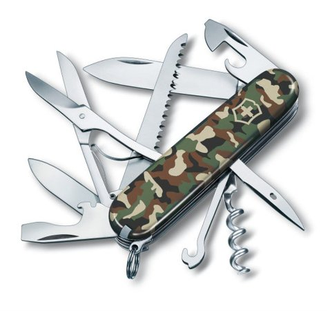 Canivete Victorinox Huntsman Camuflado escuro 1.3713.94