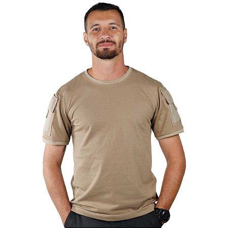 Camiseta Tática Bélica Ranger Coyote