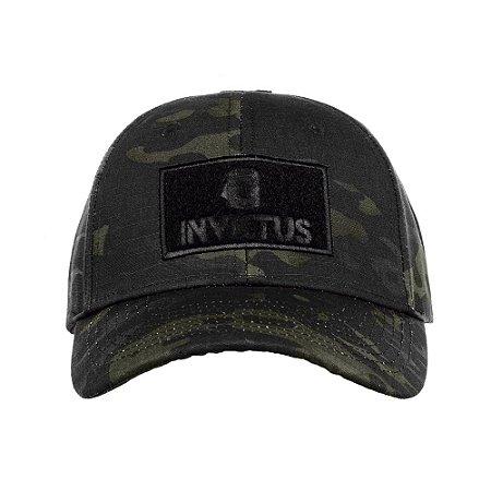 Boné Invictus Trigger Multicam Black