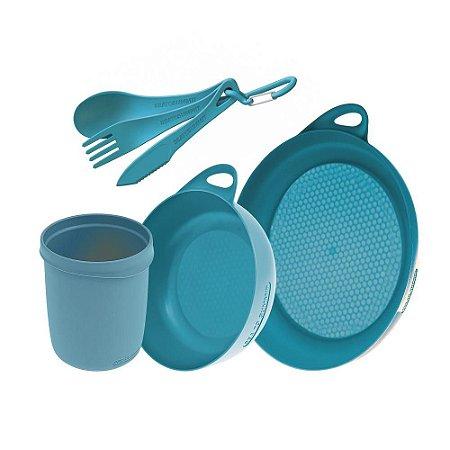 Kit de Cozinha Sea to Summit 3 peças Azul