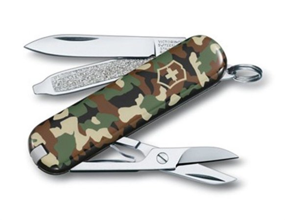 Canivete Victorinox Classic SD Camouflage em Blister 0.6223.94B1