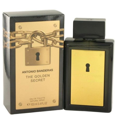 PERFUME ANTONIO BANDERAS THE GOLDEN SECRET 100ML