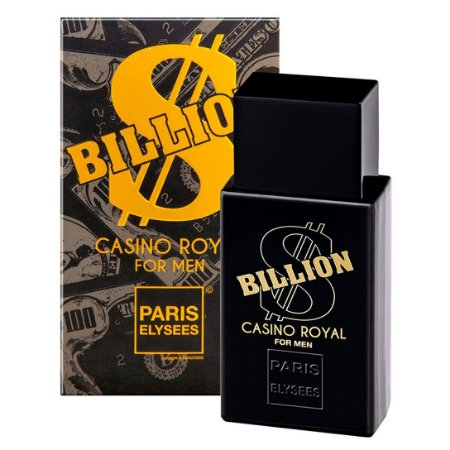 PERFUME PARIS ELYSSES BILLION CASINO ROYAL FOR MEN 100ML
