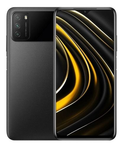 SMARTPHONE POCO M3 4RAM 64GB - BLACK