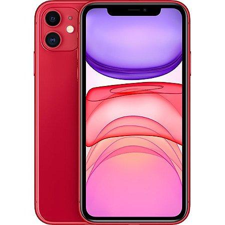 Celular Apple iPhone 11 128gb / Tela 6.1'' / 12MP / iOS 13 - Vermelho