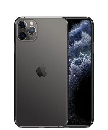 """Apple iPhone 11 Pro Max 256GB Super Retina OLED 6.5"""" Tripla 12/12MP iOS - Cinza Espacial - Lacrado na caixa - 1 Ano de Garantia Apple."""