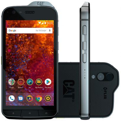 Smartphone Caterpillar s61 64gb preto