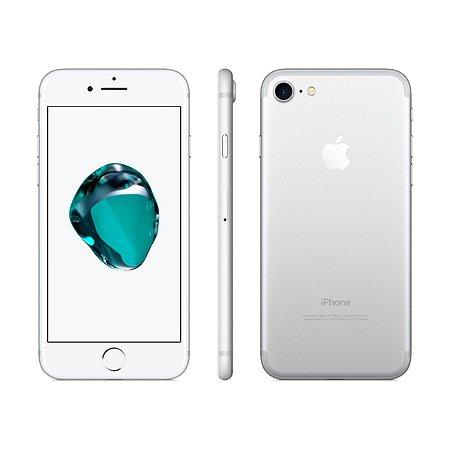 iPhone 7 32gb Prata SemiNovo de Vitrine