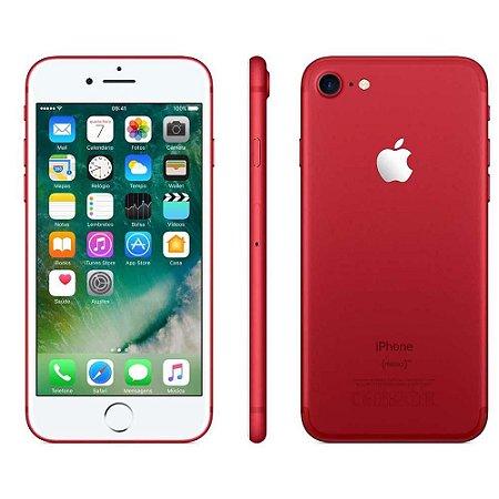 iPhone 7 128gb Vermelho SemiNovo de Vitrine
