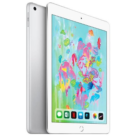 Apple iPad 6° 128gb wi-fi e 4G Prata