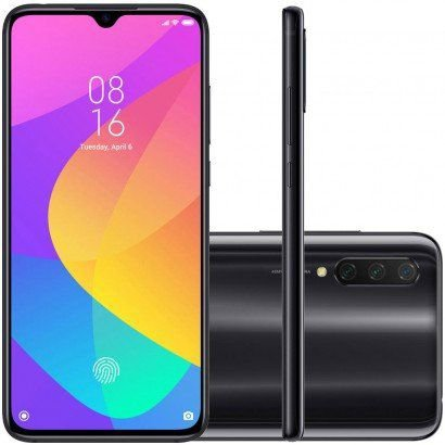 Smartphone Xiaomi Mi 9 Lite 128gb 6Ram Preto