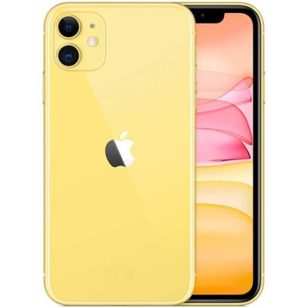 Celular Apple iPhone 11 128gb / Tela 6.1'' / 12MP / iOS 13 - Amarelo