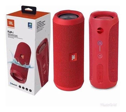 Speaker JBL Flip 4 Vermelho