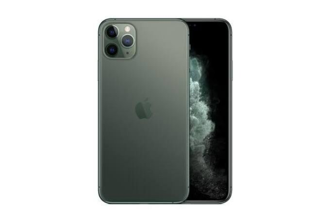 "Apple iPhone 11 Pro Max 64GB Super Retina OLED 6.5"" Tripla 12/12MP iOS - Verde Meia Noite - Lacrado na caixa - 1 Ano de Garantia Apple."