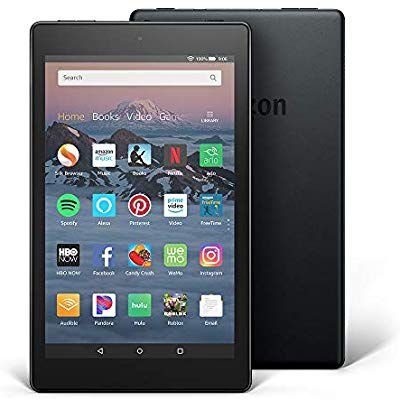 "Tablet Amazon Fire HD8 32gb 8Pol"" Preto"