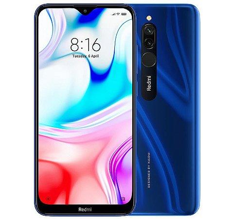 Smartphone Xiaomi Redmi 8 64gb 4ram Azul