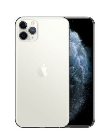 "Apple iPhone 11 Pro Max 256GB Super Retina OLED 6.5"" Tripla 12/12MP iOS - Prateado - Lacrado na caixa - 1 Ano de Garantia Apple."