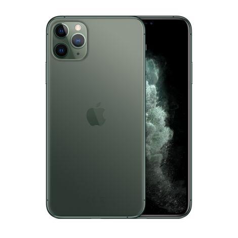 "Apple iPhone 11 Pro Max 256GB Super Retina OLED 6.5"" Tripla 12/12MP iOS - Verde meia noite  - Lacrado na caixa - 1 Ano de Garantia Apple."