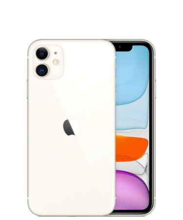 iPhone 11 64GB Branco iOS 4G Wi-Fi Câmera 12MP - Apple