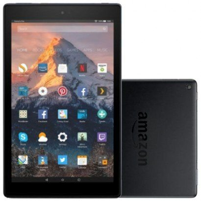 "Tablet Amazon Fire HD10 32gb 10Pol "" Preto"