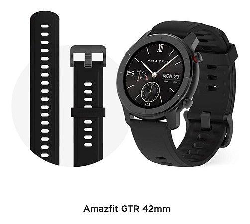 Relógio smartwatch Xiaomi amazfit Gtr 42mm Preto