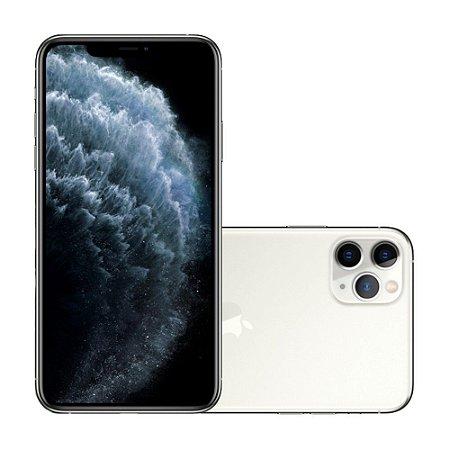 "Apple iPhone 11 Pro Max 64GB Super Retina OLED 6.5"" Tripla 12/12MP iOS - Prateado - Lacrado na caixa - 1 Ano de Garantia Apple."