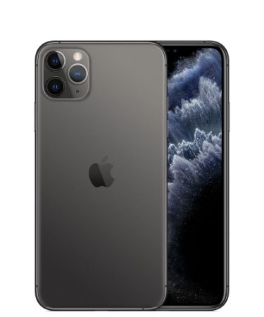 """Apple iPhone 11 Pro 64GB Super Retina OLED 5.8"""" Tripla 12MP/12MP iOS - Cinza Espacial- Lacrado na caixa - 1 Ano de Garantia Apple."""
