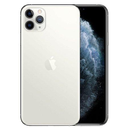 "Apple iPhone 11 Pro 64GB Super Retina OLED 5.8"" Tripla 12MP/12MP iOS - Prateado - Lacrado na caixa - 1 Ano de Garantia Apple."