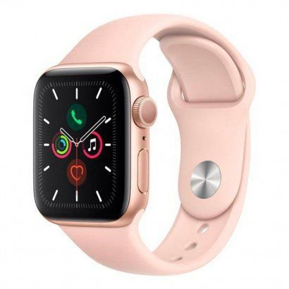 Smartwatch Apple watch Serie 5 44mm Rose Gold - Aluminio Rosa , Com Pulseira esportiva Pink