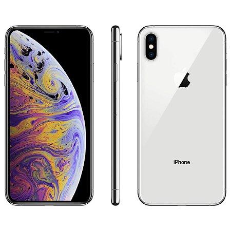 iPhone xs Max 64gb Prata SemiNovo de Vitrine
