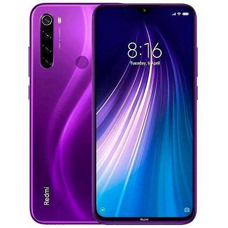 Smartphone Xiaomi Redmi Note 8 128gb 6Ram Violeta