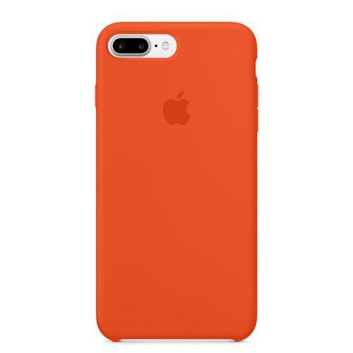 Capa Capinha Case de Silicone para Iphone 7 / Iphone 8 - Plus Laranja