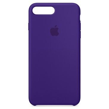 Capa Capinha Case de Silicone Apple para iphone - 7 plus / 8 plus - lilas